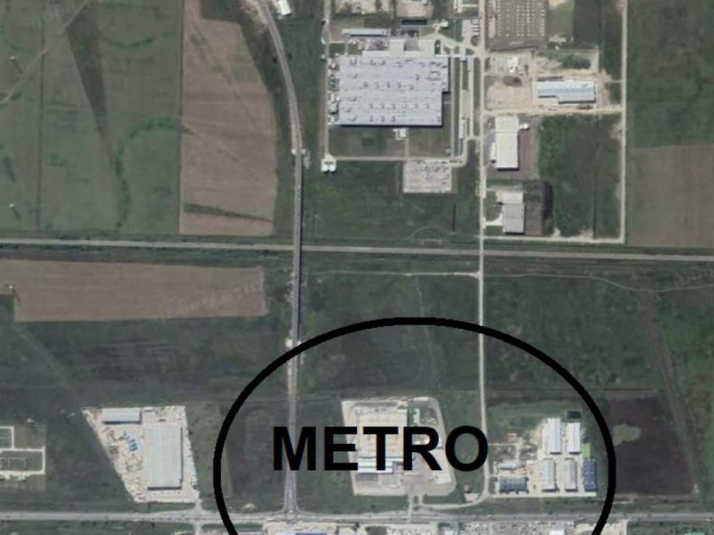 Teren 6200 mp pentru Hala / zona METRO