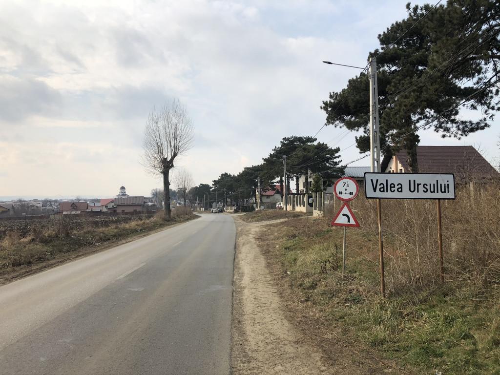 Parcele teren 512 mp, intrare Valea Ursului - Miroslava