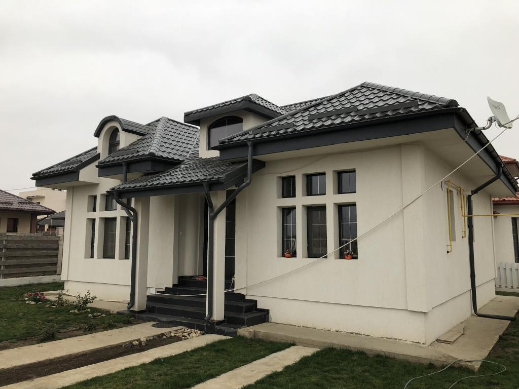 Casa individuala pe parter, Miroslava, proiect deosebit - CANALIZARE